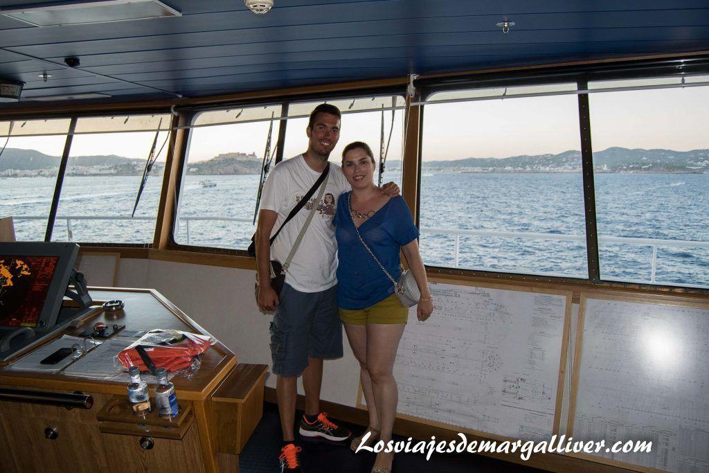 Puente de mando del Bahama Mama de Baleària - Los viajes de Margalliver